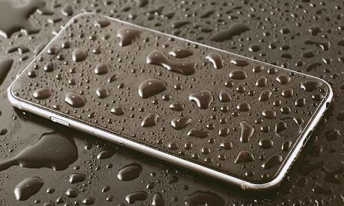 A smartphone with built-in motion sensor could help identify contaminated water.